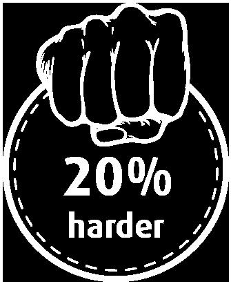 Powercoat - 20% harder