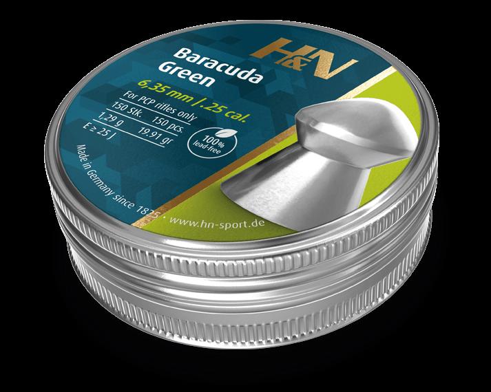 Baracuda Green 6.35