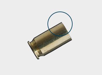 Zentralfeuerpatronenmunition für Pistolen