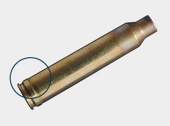 Zentralfeuerpatronenmunition mit Gürtel