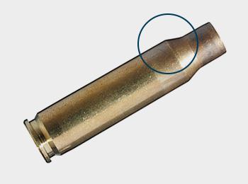 Zentralfeuerpatronenmunition ohne Rand